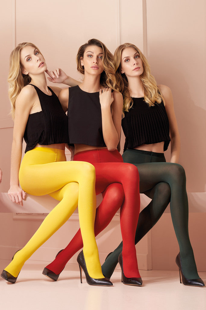 Sophie 70 Den Semi-Opaque Color Tights (O to Z)