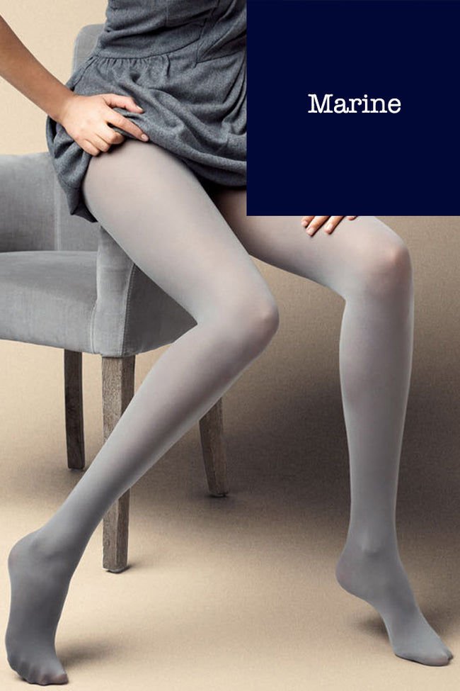 Satin 40 Den Opaque Microfiber Tights in 27 Colors