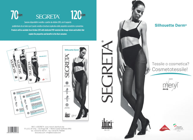 Segreta Silhouette 120 Derm Support Pantyhose - Spike Angel - 4