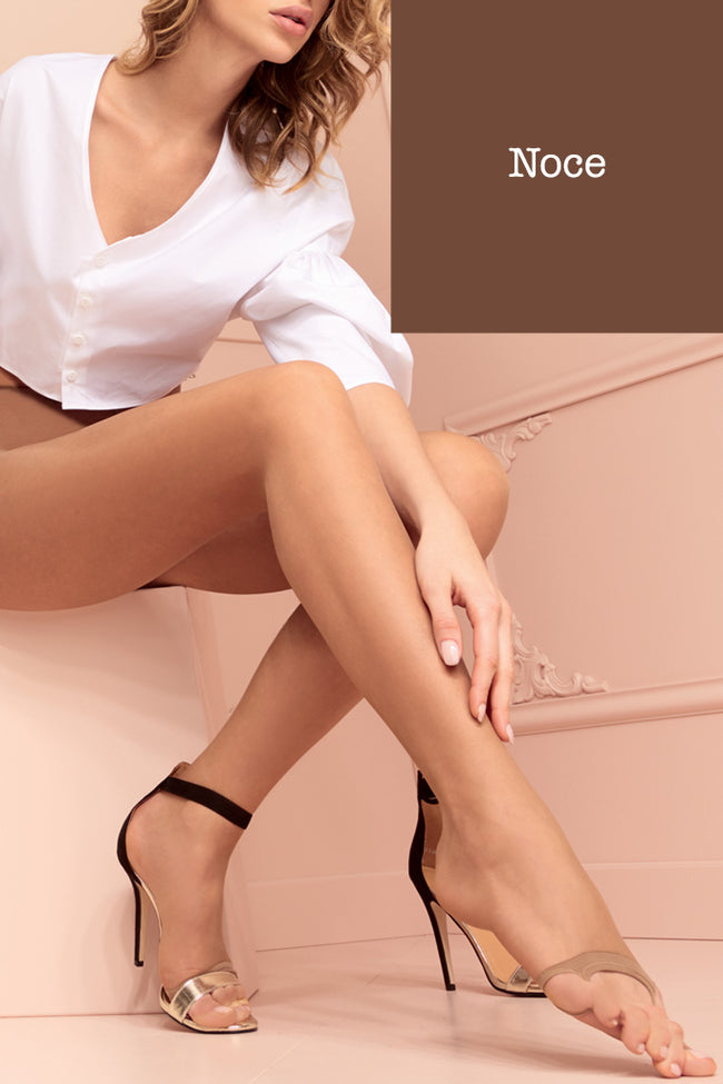 Tropea 8 Den Toeless Ultra Sheer Pantyhose