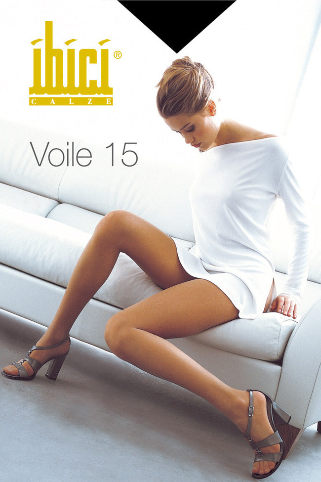 Ibici Voile 15 Sheer Pantyhose - Spike Angel - 2