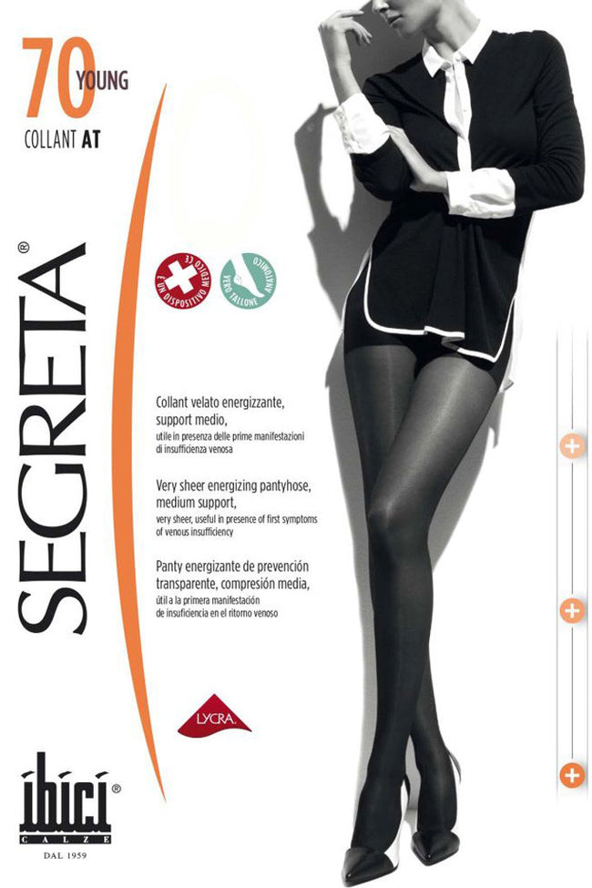 Segreta Young 70 Support Pantyhose - Spike Angel - 1