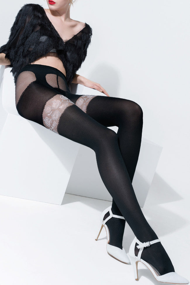Trasparenze Aleppo Fashion Tights - Spike Angel - 1