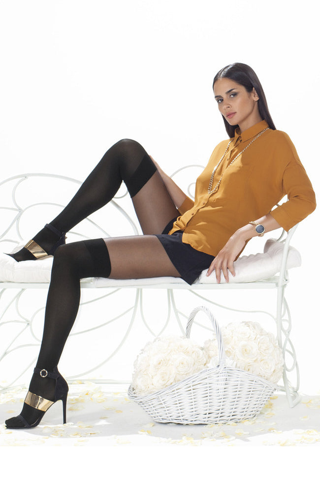 Trasparenze Alexander Over The Knee Tights - Spike Angel - 5