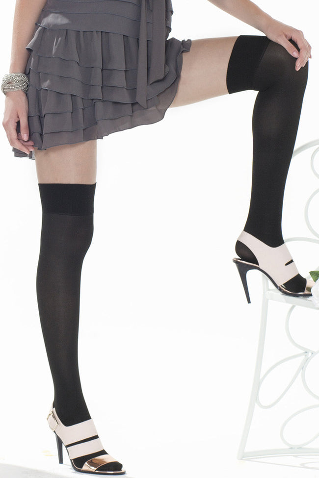 Trasparenze Alexander Over The Knee Tights - Spike Angel - 6
