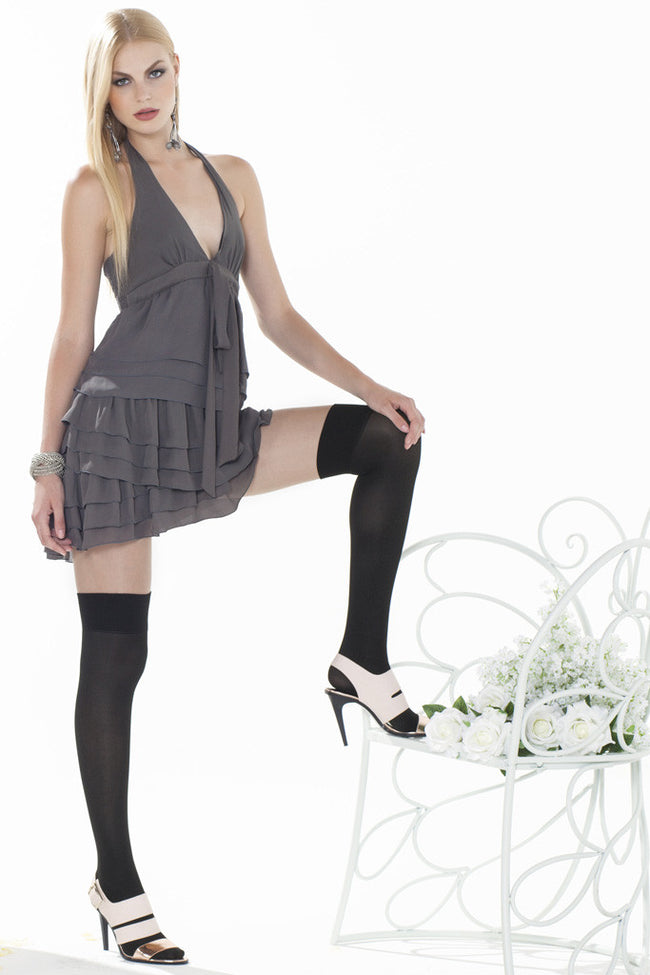 Trasparenze Alexander Over The Knee Tights - Spike Angel - 4