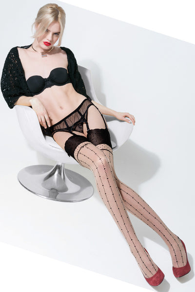 Babilonia Dotted lines Stockings