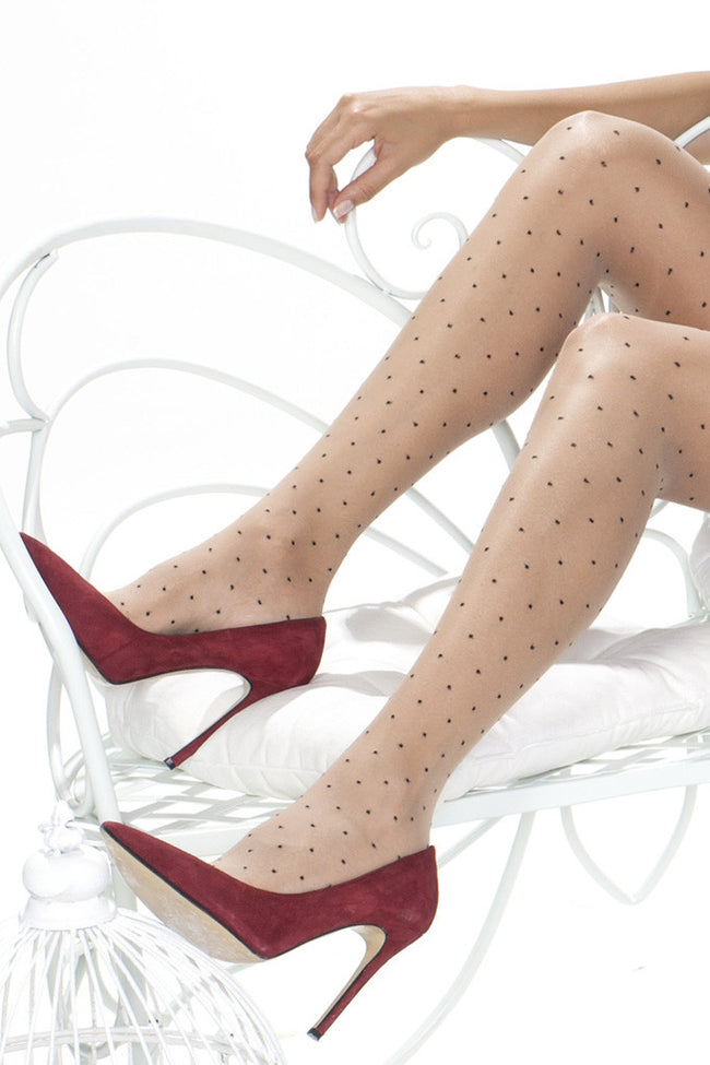 Trasparenze Caipirinha Polka Dot Thigh High - Spike Angel - 5
