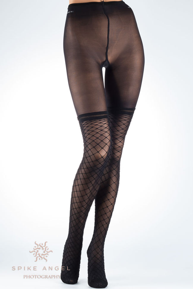 Eudoro Fishnet Over The Knee Tights