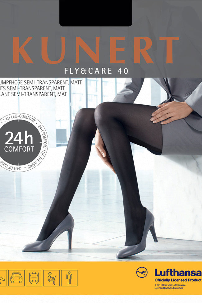 Kunert FLY&CARE 40 Support Tights - Spike Angel - 1