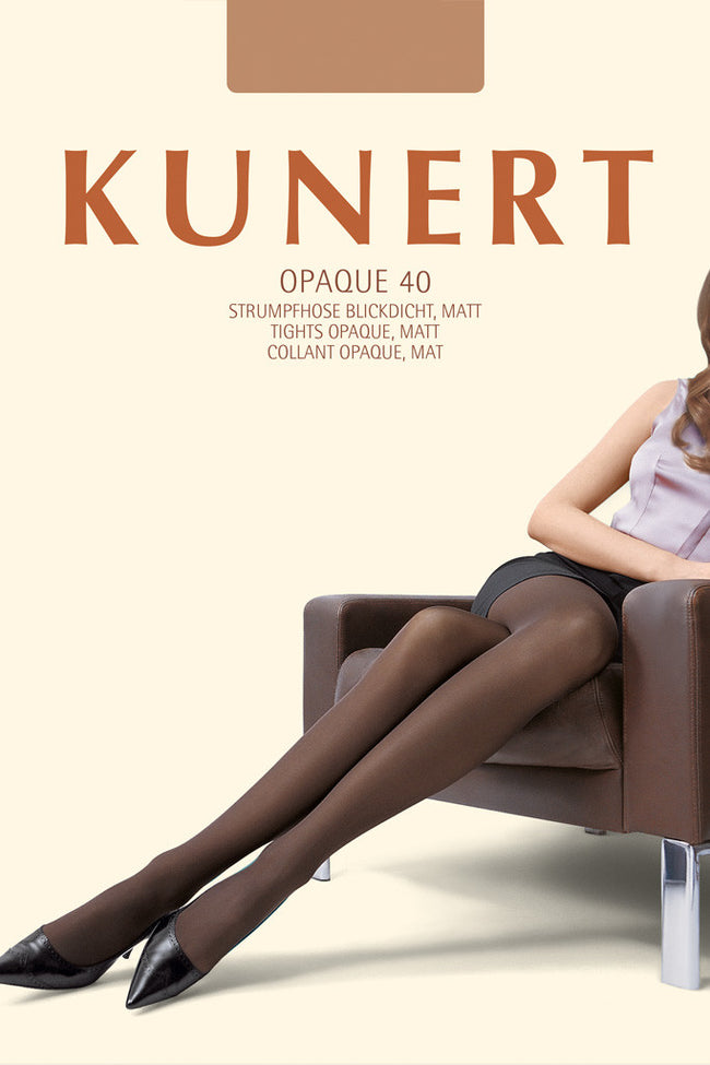 Kunert OPAQUE 40 Soft Tights - Spike Angel - 1