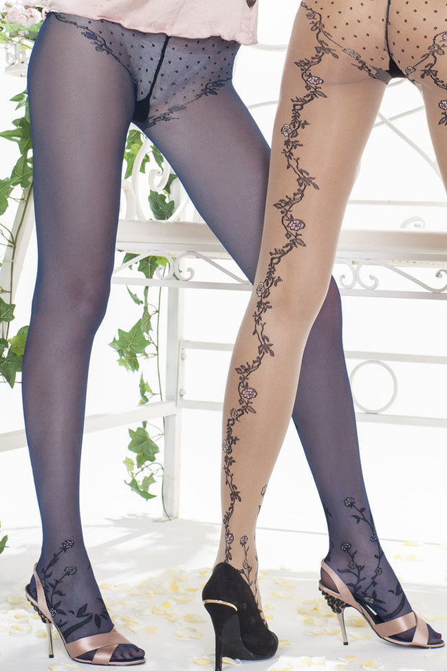 Trasparenze Paradise Fashion Pantyhose - Spike Angel - 4