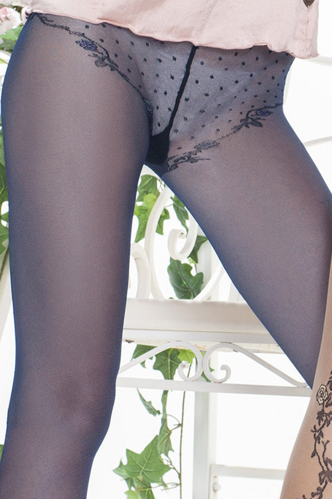 Trasparenze Paradise Fashion Pantyhose - Spike Angel - 5