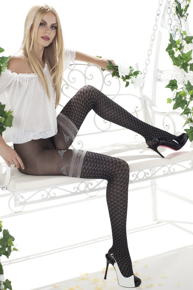Trasparenze Pina Colada Fashion Tights - Spike Angel - 1