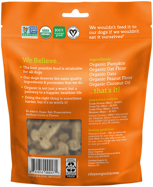 Human Grade Organic Dog Treats Variety Pack - Large Bone