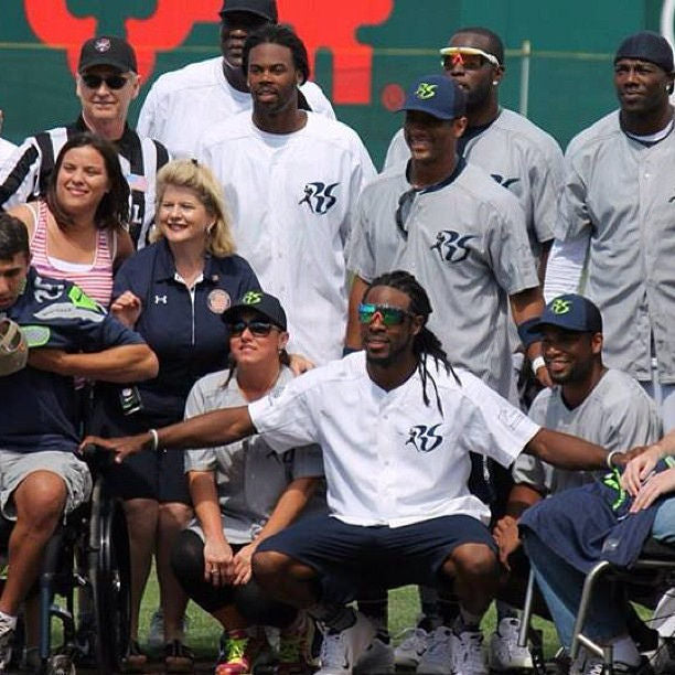 Richard Sherman Celeb Softball