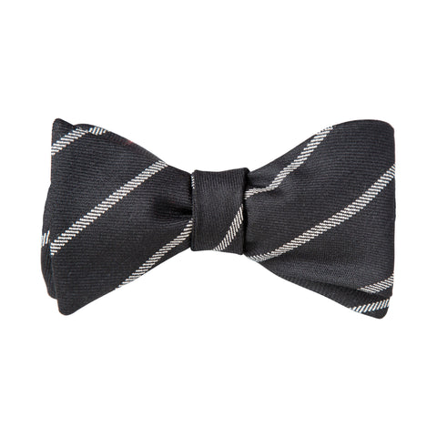 Oxford Black Bow Tie
