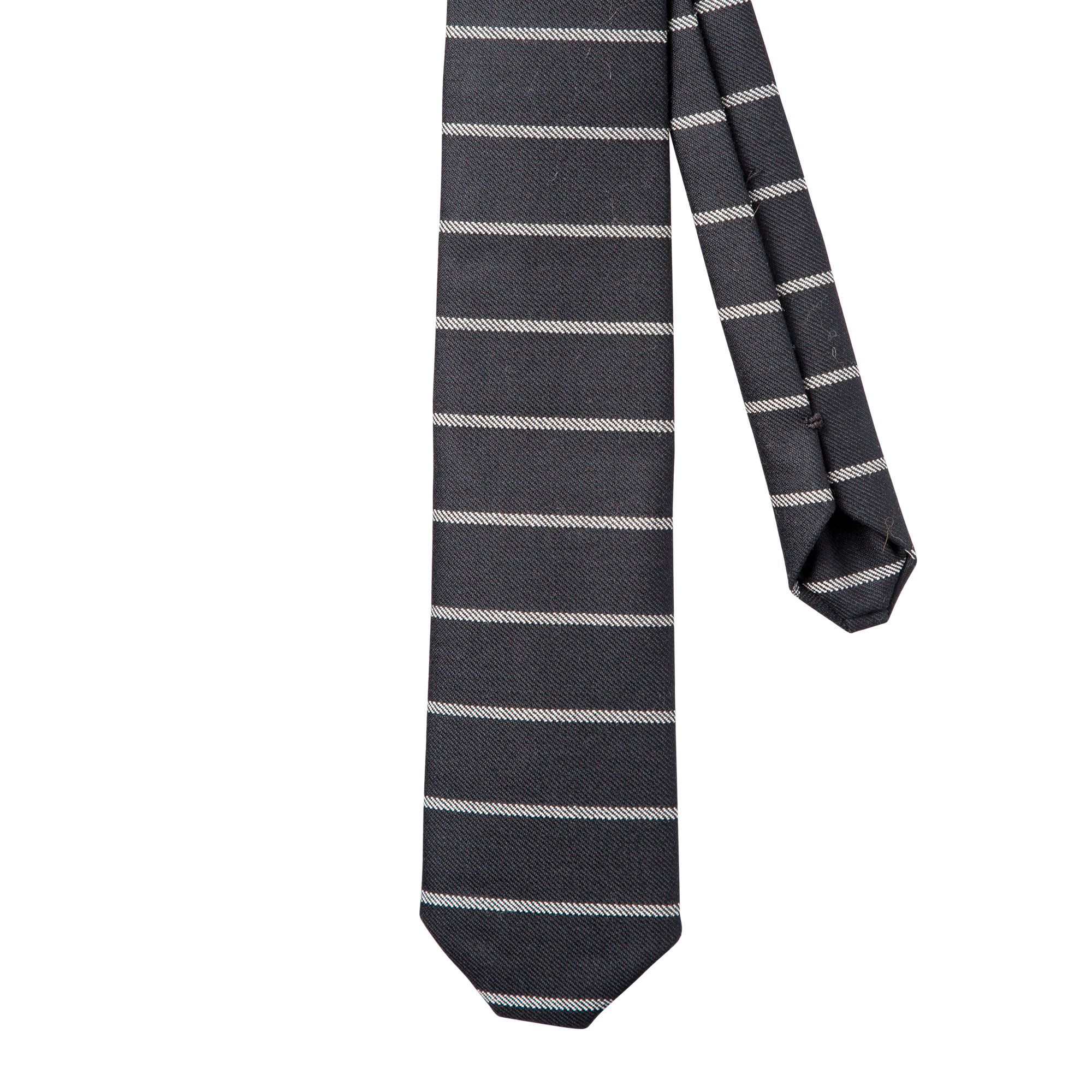 Oxford Black Necktie