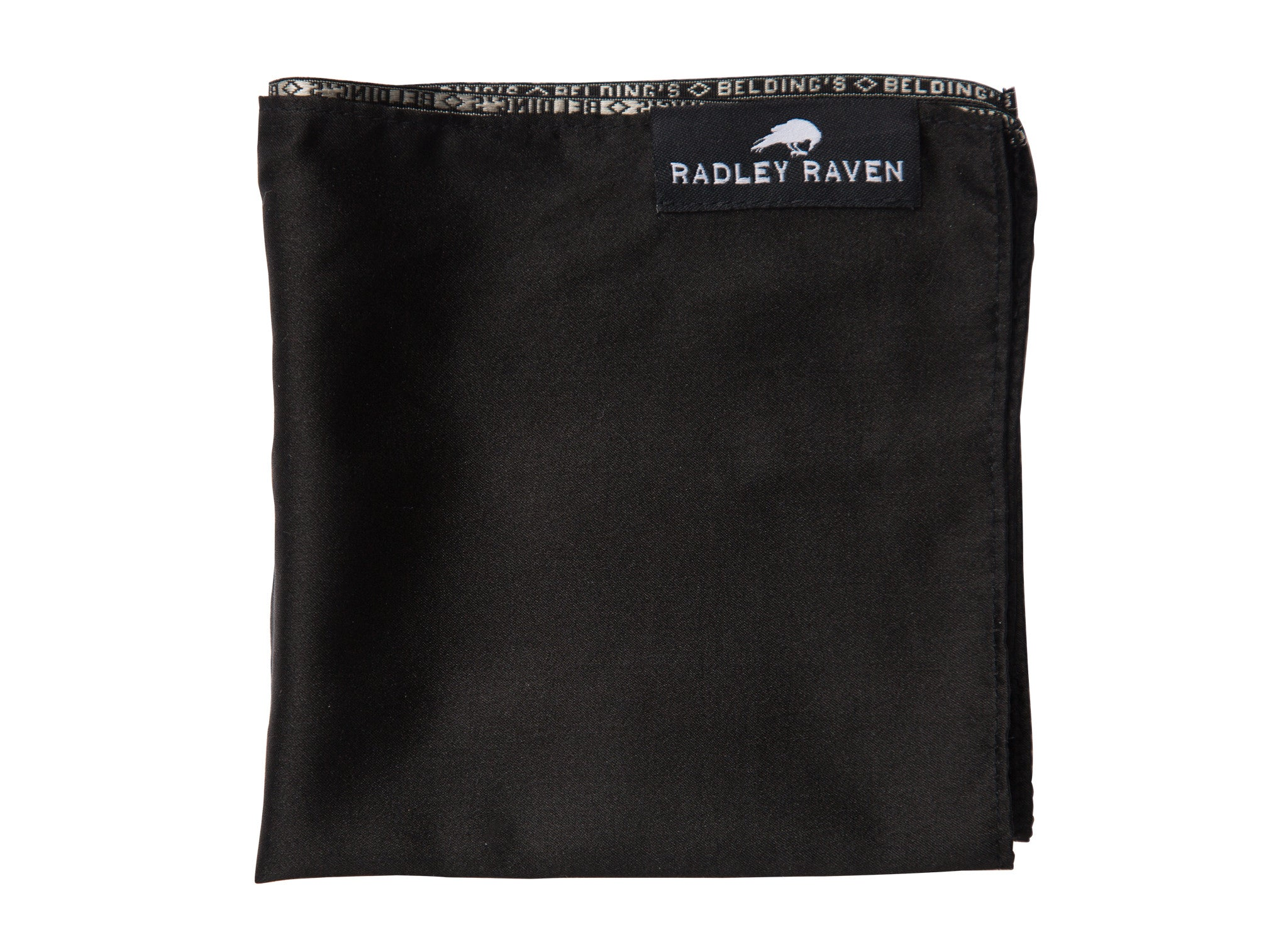 Raven No.1 Pocket Square