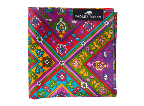 Hendrix Pocket Square
