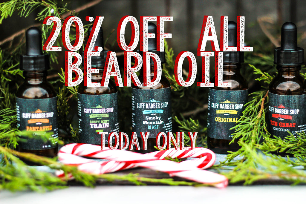 20% Off Bearded Christmas Wishes & Specials