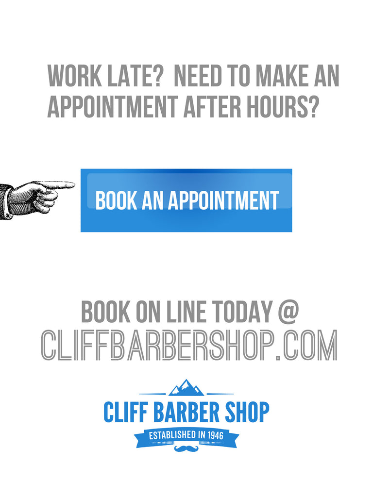 Cliff Barber Shops - New EZ button