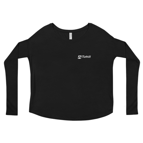 Ladies' Tuthill Logo Long Sleeve Tee