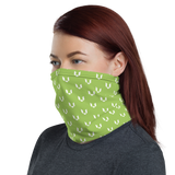 Wake the World Green Neck Gaiter
