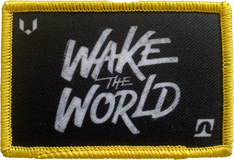 """Wake the World"" Patch"