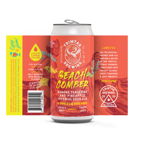 Beachcomber Imperial Sour Ale - (Online beer purchases available to Cellar Patrons only)