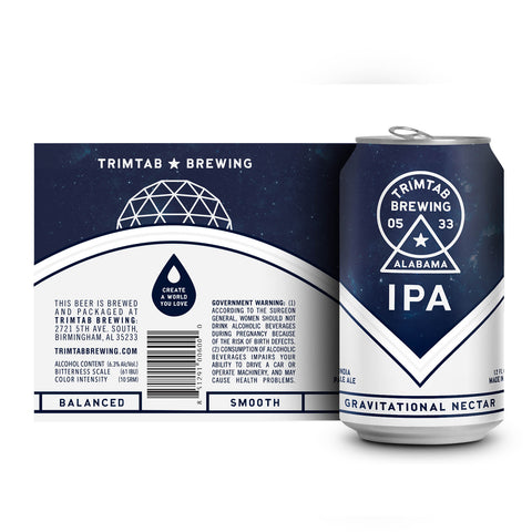 Flagship - TrimTab IPA (Online beer purchases available to Cellar Patron members only)