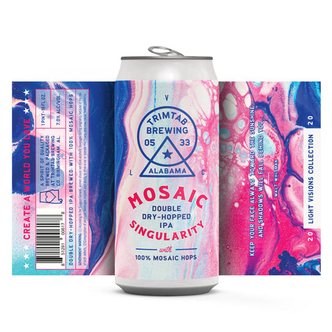 Light Visions Collection - MOSAIC SINGULARITY (Online beer purchases available to Cellar Patron members only)
