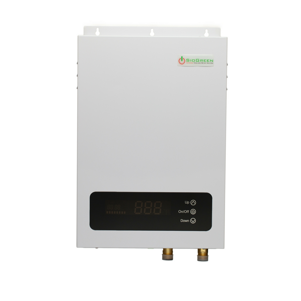 SioGreen Sio14 v2 Infrared Tankless Water Heater. 14kW/60A/220v