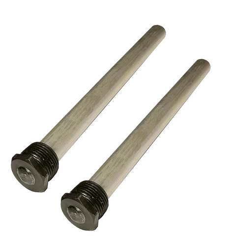 RV Water Heater Anode Rod - Magnesium Anode Rod Suburban Water Heaters Suburban & Morflo - 9.25''Long & 3/4'' Thread - Long Lasting Tank Corrosion Protection - 2pc