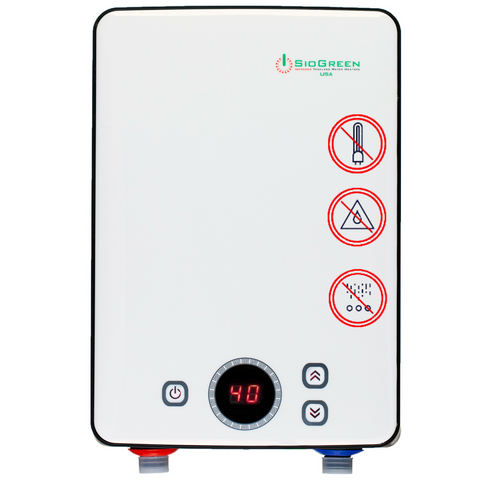 SioGreen IR260 POU Infrared Tankless. 6.0 kW/30A/240V (Refurbished)