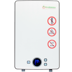 SioGreen IR288 POU Infrared Tankless. 8.8 kW/40A/240V (Refurbished)