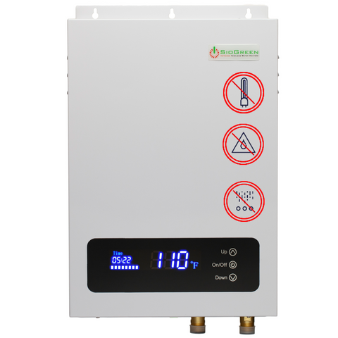 SioGreen Sio14 v2 Infrared Tankless Water Heater. 14kW/60A/240v