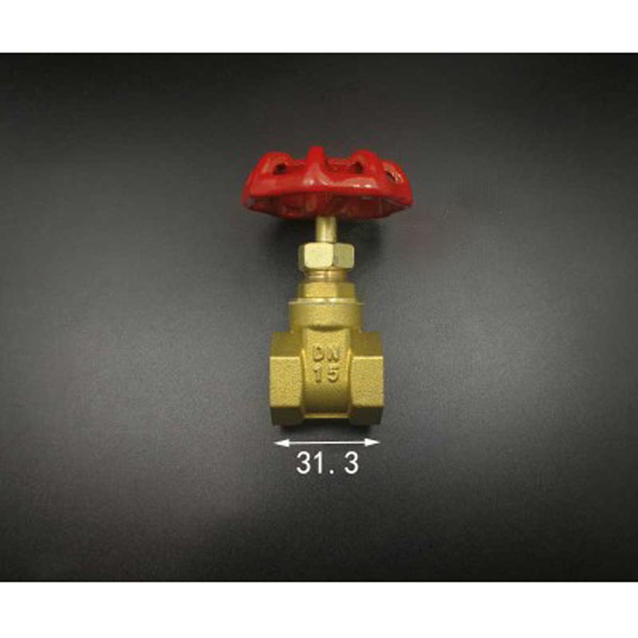 1/2 in. Brass FIP x FIP Gate Valve