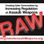 REGULATE ASSAULT WEAPONS 3: DIMENSIONS 3.75 X 3.75