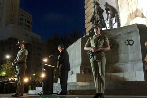 Anzac Day March Adelaide 2015