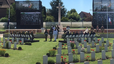 Australia Remembers: Pheasant Wood Commemorative Service & Headstone Dedication, Fromelles
