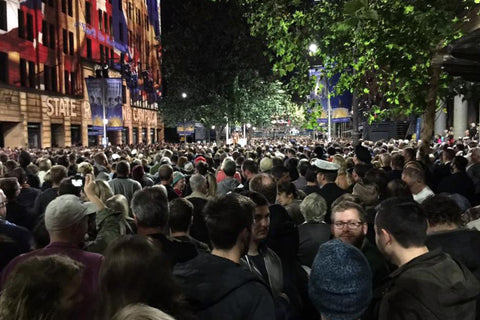 Anzac Day March 2017