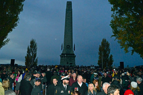 Anzac Day March Hobart 2015