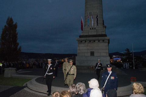 Anzac Day March Hobart 2016