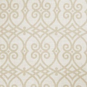Lattice Pattern Cashew/Beige 02616
