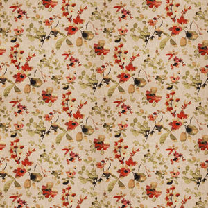 Watercolor Floral Pattern Spice 03367