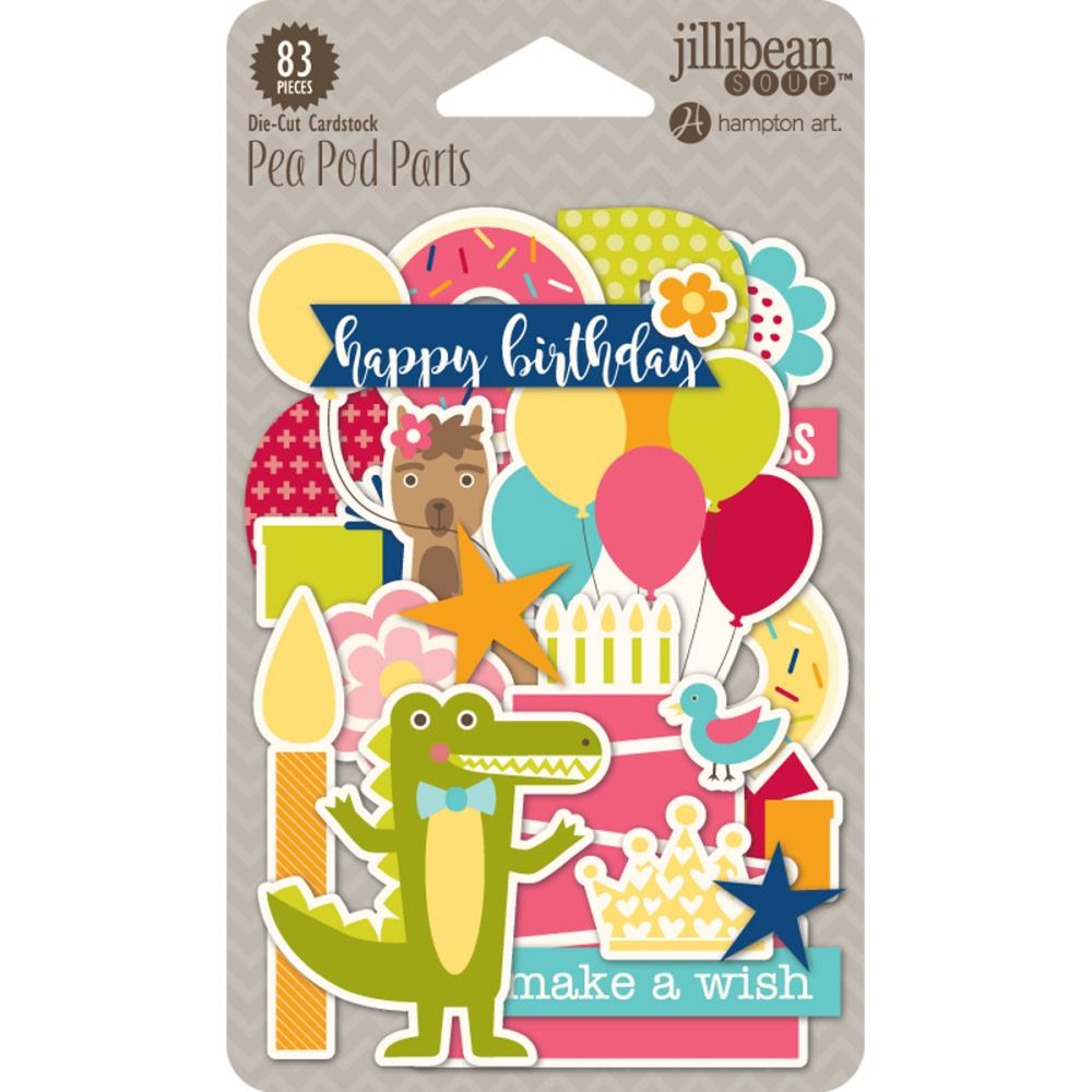 Souper Celebration- Pea Pod Parts- Die-Cut Cardstock
