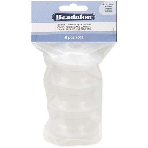 Beadalon Bobbins For Kumihimo Braiding