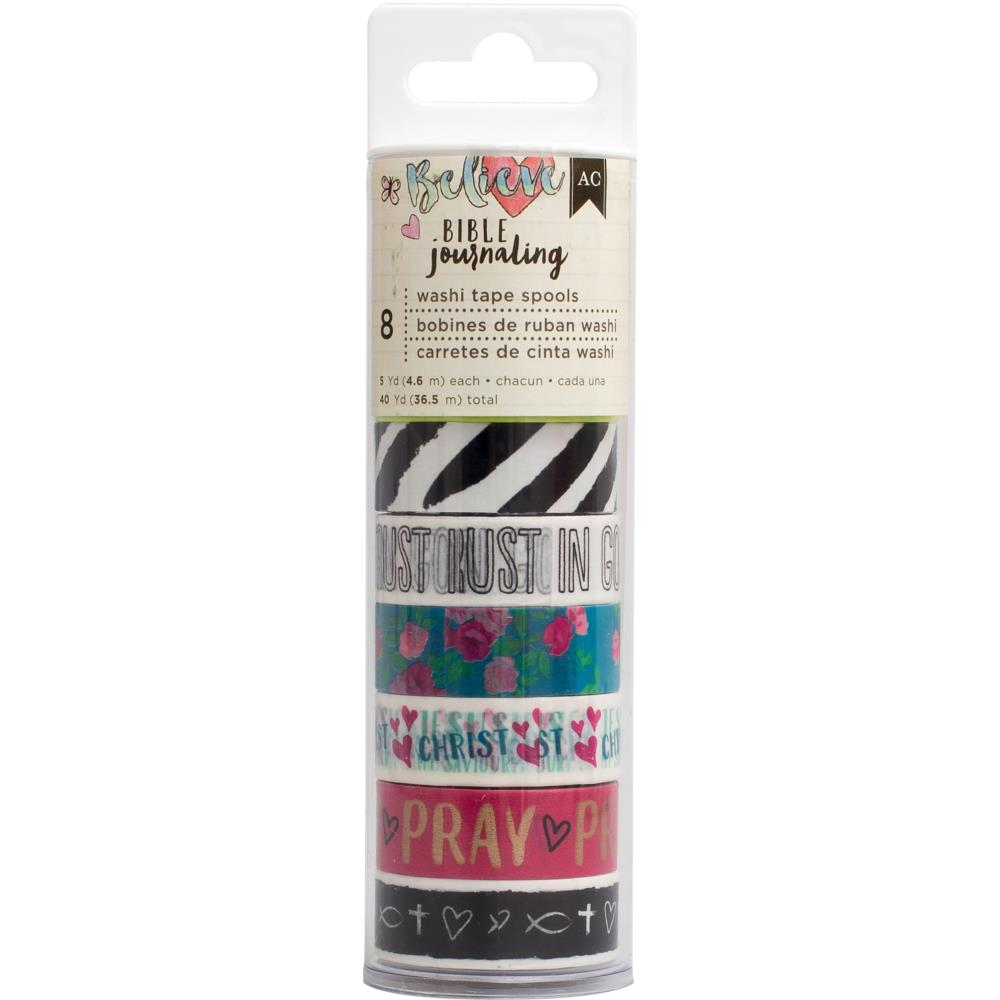 American Crafts Bible Journaling Washi Tape- Edgy