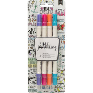 Bible Journaling Dual Tip Markers- Brights